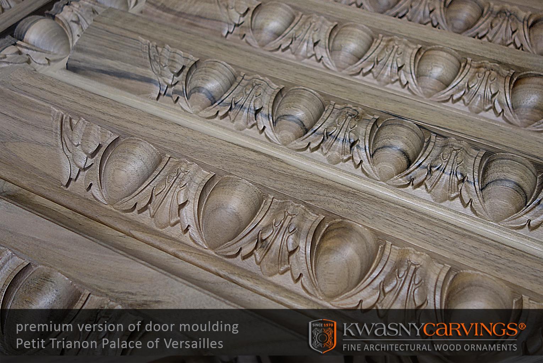 Usinage commande numérique - Moulures sculptées pour constructions historiques en bois.